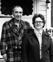Dom and Lou Trubia, shortly before his death in 1979